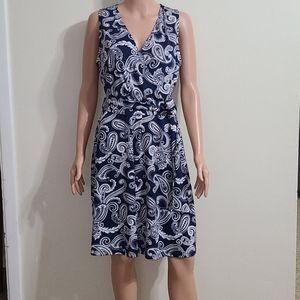 I-N-C  INTERNATIONAL CONCEPTS Sleeveless dress L